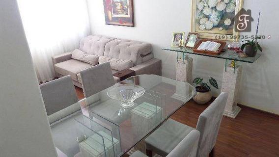 Apartamento Com 2 Dormitórios À Venda, 82 M² Por R$ 260.000,00 - Vila Industrial - Campinas/sp - Ap0459