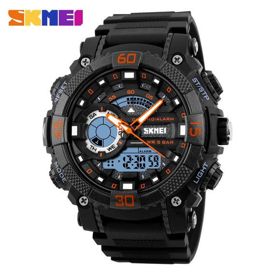 Relógio Masculino Skmei 1228 S-shock Analógico Digital