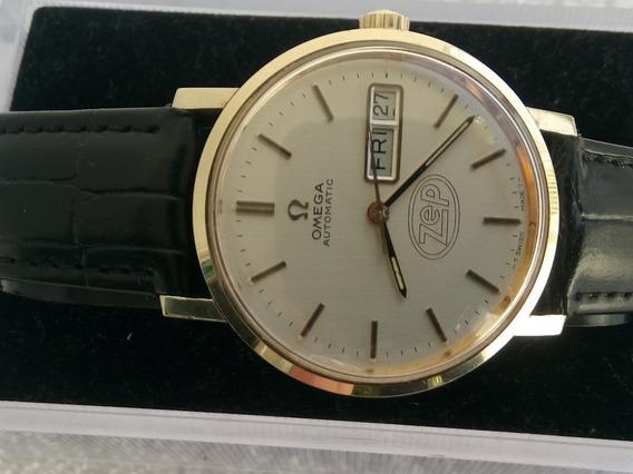 Reloj Omega Automatico Gold Filled Como Nuevo Coleccion