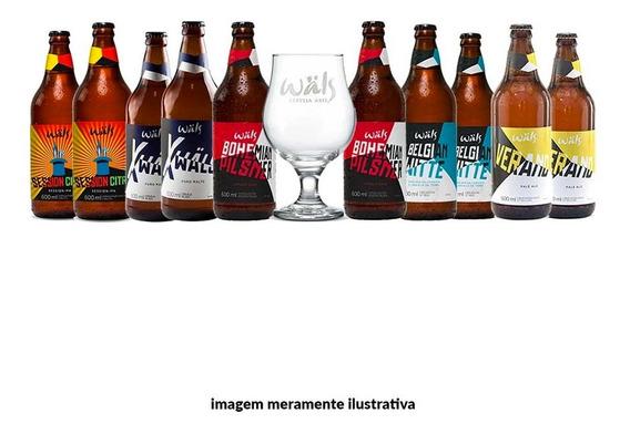 Kit Wäls Estilos (10 Cervejas + 1 Taça)