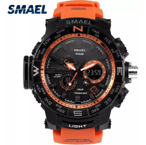 Relógio Smael Shock Militar 1531 Esportivo Prova D