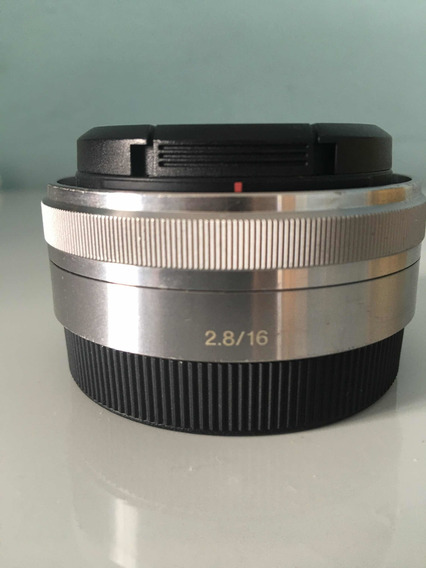 Lente Sony 16mm F/2.8 Semi Nova