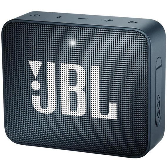 Caixa Portátil Jbl Box Go2 - 3w Navy Bluetooth Prova D