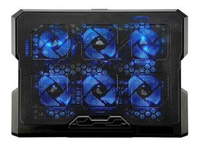 Base Cooler Pad C/ 6 Cooler Led Notebook Laptop Oletech