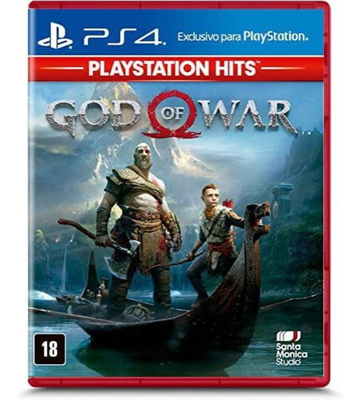 Jogo Ps4 God Of War Hits