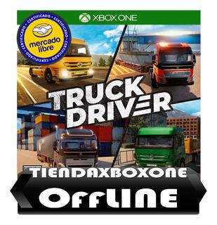 Truck Driver Entrega Inmediata Modo Xbox One Offline