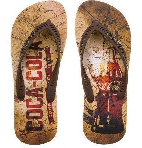 Chinelo Coca Cola Cc2432 Dedo Masculino