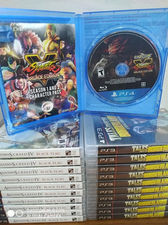 Street Fighter V Ps4 Fisico Spacegaminglomas