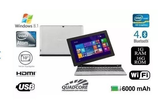 Notebook Zx3015 Touch Tablet Positivo Duo 2 Em 1 Intel®