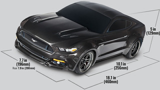 Automodelo Carro Ford Mustang Gt 1/10 Awd 830444