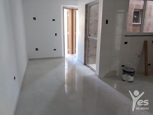 Imagem 1 de 17 de Ref.: 2592 - Apartamento Sem Condomínio,02 Dormitórios E 01 Vaga Na Vila Alzira, Santo André - Sp - 2592