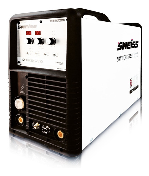 Soldador Sweiss Multipropósito 250amp, 95 A 270v Industrial