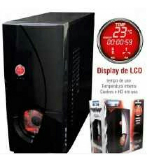 Cpu Gamer Completa Socket 775 4gb Hd 500gb
