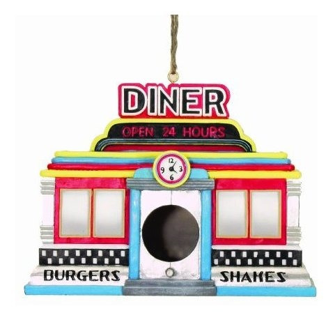 Imagen 1 de 1 de Spoontiques Diner Birdhouse