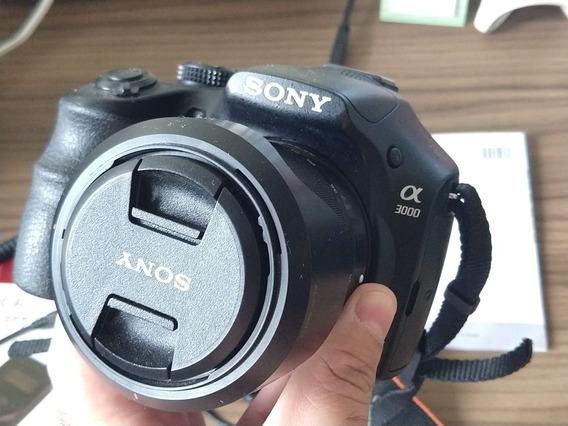 Camera Sony A3000+ Timelapse + Cartão