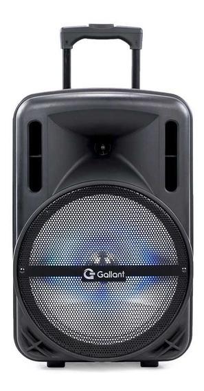 Caixa De Som Gallant 200w Fm Bivolt Bluetooth 4.2 Usb/sd/aux