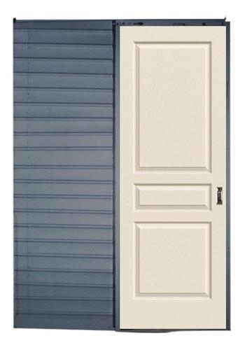 Puerta Corrediza Embutir Avalon Blanca 80 M.ch.18 Tabique 10