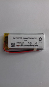 Bateria 800mah 4.2v Li-po Para Cardo G4 G9 G9x Scala Rider