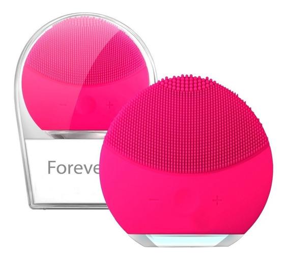 Escova Limpeza Facial Massageadora Esfoliação Recarregável