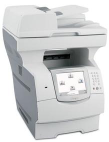 Multifuncional Lexmark X644e Lote Com 4 Máquinas
