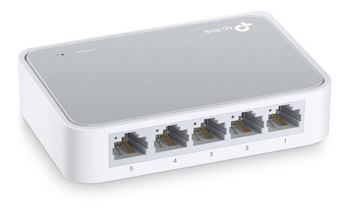 Switch Tp Link Tl-sf1005d 5 Puertos 10/100 Mbps Ethernet