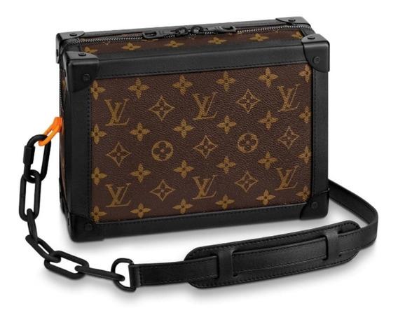 Bolsa Louis Vuitton Soft Trunk Monogram Com Preto Lanç 2019