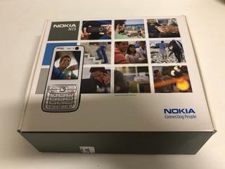 Celular Antigo Nokia N73 Completo Na Caixa - Conservadíssimo