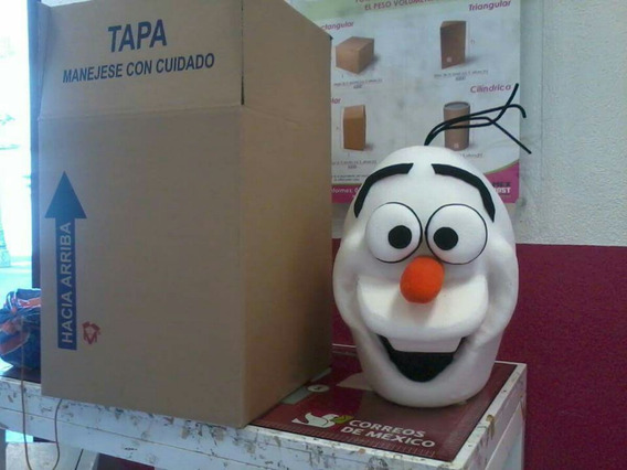 Cabeza De Botarga De Olaf Frozen Nueva