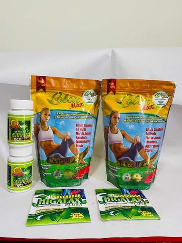 Imagen 1 de 6 de Kit Colon Max + Quiebra Barriga +  Purga - kg a $20
