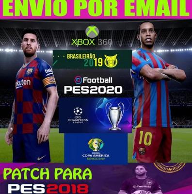 Super Patch Atualizado! Pes 2020 Xbox 360 Lt 3.0