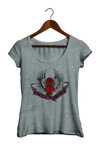 Remeras De Mujer - Guns N Roses Varios Diseños A Eleccion 1