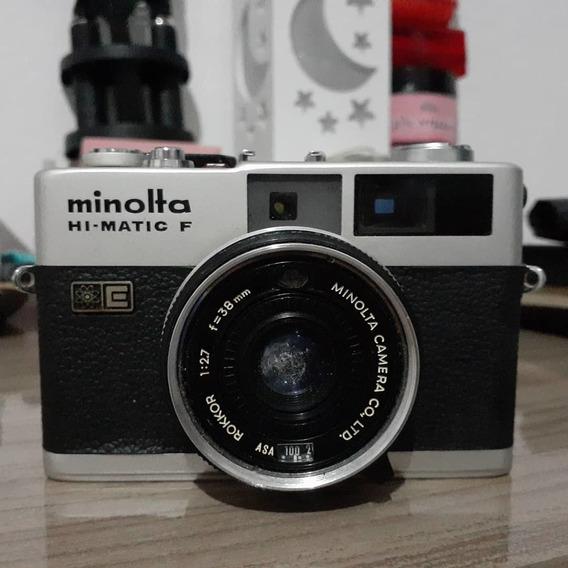 Camara Antiga Fotográfica Hi Matic Com Flash Leia Descrição.