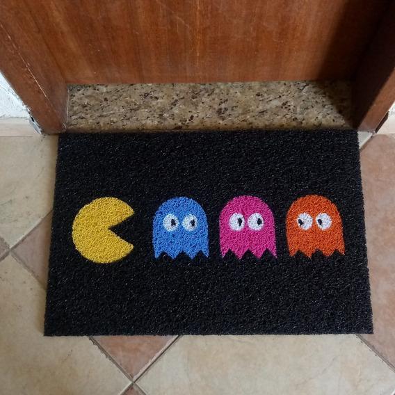 Capacho Tapete Pacman Atari - Decoração Game Room - Loja Rj