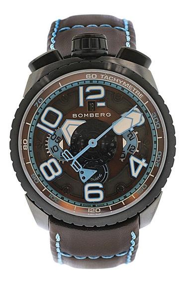 Bomberg Bolt-68 Chronograph Automático Swiss Made Bs47chapba
