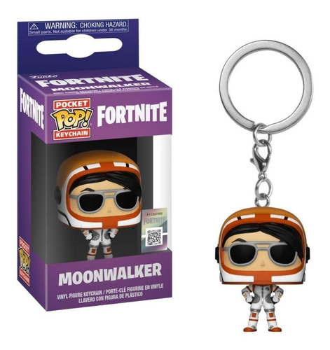 Funko Pop Keychain Llavero Moonwalker Fortnite