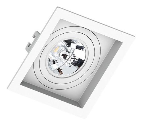 Spot Embutir Recuado Quadrado Ar70 Saveenergy