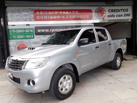 Toyota Hilux 2.5 Cd Dx Pack 120cv 4x2 - H3 2015 Rpm Moviles
