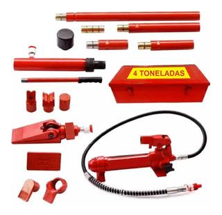 Gato / Porto Power 4 Toneladas / Caja Metalica