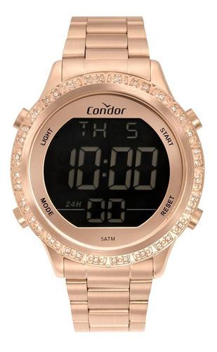 Relógio Condor Feminino Cobj3463ak/4j Rose Digital