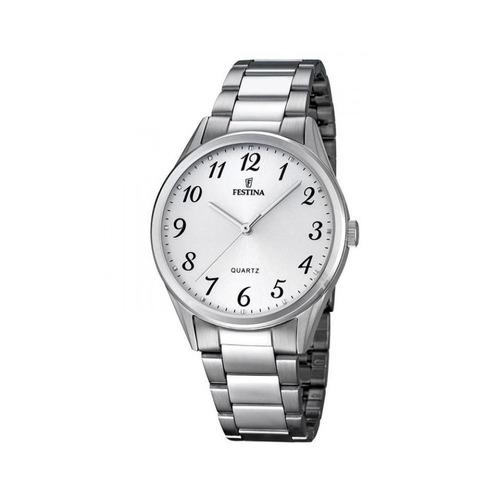 Reloj Hombre Con Números De Acero Festina F16875