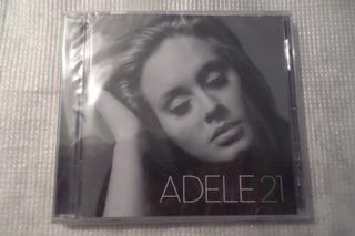 Cd De Audio Adele 21 100% Original Nuevo Y Sellado