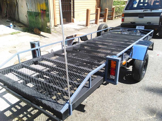 Remolque / Carreta Para Dos Cuadras Cod T121
