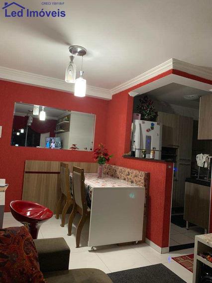 Apartamento Com 2 Dorms, Parque Jandaia, Carapicuíba - R$ 229 Mil, Cod: 191 - V191