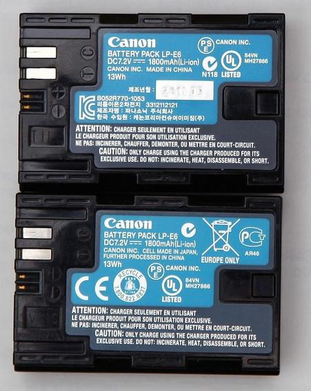 Bateria Lp-e6 Canon Eos