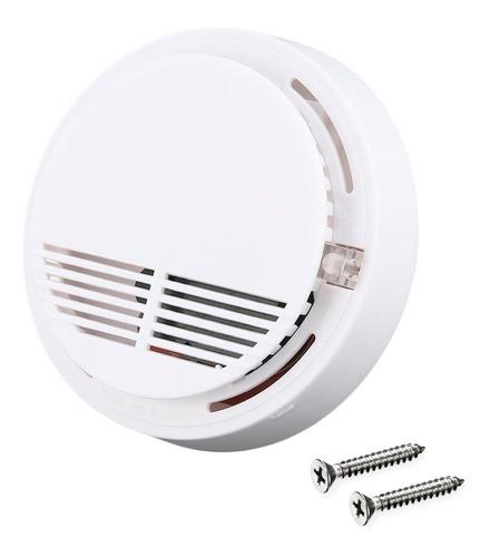 Alarma Sensor Detector De Humo Autónomo Inalámbrico Fotoeléctrico