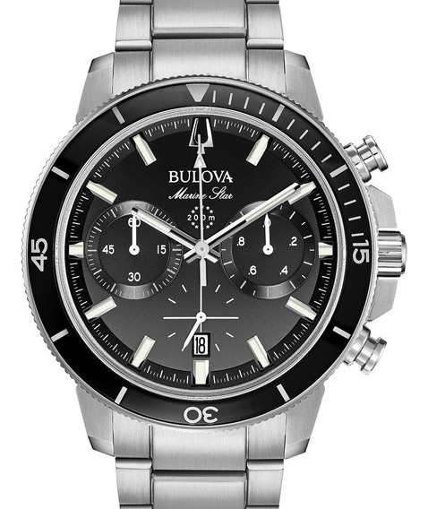 Relogio Bulova Masculino Marine Star Cronografo 96b272