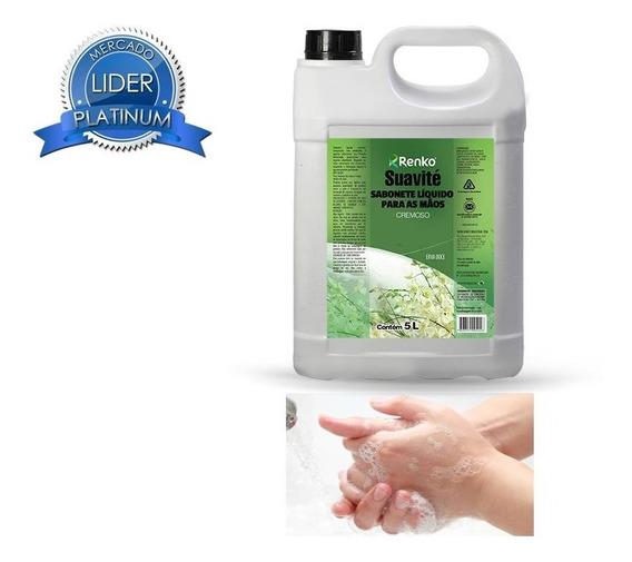 Sabonete Líquido Cremoso P/ Mãos Varias Fragrâncias 5l Renko