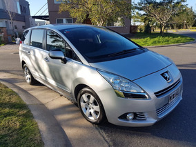 Peugeot 5008 1.6t 6mt 7 Asientos Allure 2012 85000km Gris