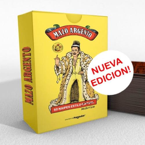Mazo Argento - Naipes Argentinos Juego Poppular Previa Truco