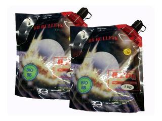 Pack X2 Bolsas Balines 1kg 0.20g